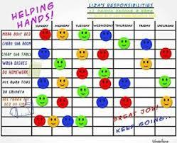 Details About Chalkboard Design Magnetic Child Behavior Responsibility Chore Reward Chart