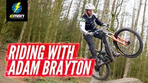 Freeride & Downhill E Biking At Revolution Bike Park | Riding With Adam  Brayton - YouTube