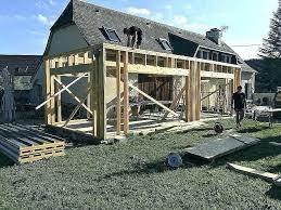 maison ossature metallique kit luxe bois toit plat contemporaine de loisirs jpg 687 458 prix construction ossa