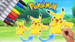 Phim Hoạt Hình Pokemon   Dạy Bé Tập Vẽ Và Tô Màu Pokémon #4   Hoạt Hình  Tiếng Việt Pokémon   Pokemon, Phim hoạt hình, Hoạt hình