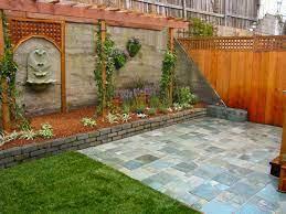 brick wall garden designs decorating