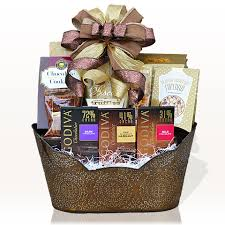 awesome chocolate decadence gift basket