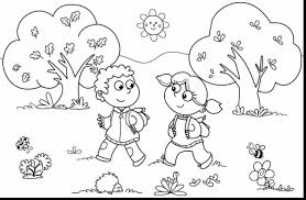 wonderful printable spring coloring pages with coloring pages for ...