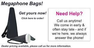 Pom Express Megaphone Bags Welcome to for all your Cheer, Dance and Drill poms!