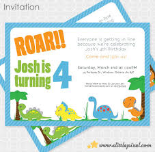 free dinosaur party invitations personalized dinosaur birthday invitations awesome dinosaur