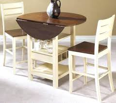 small round kitchen table with drop leaf and 2 chairs apartment ideas