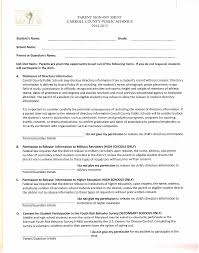 Parent Sign-Off Sheet Carroll County Public Schools 2014-2015