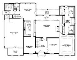 5 bedroom floor plans. 4 Bedroom Bath House Plans 5 Two Story 2 . Floor