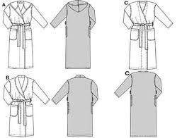 Robe Sewing Pattern Amazing Burda 48 Bathrobe