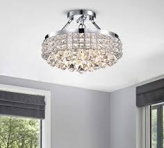 flush mount crystal light elegant crystal ceiling light shades od m 697 holytrinitychurch