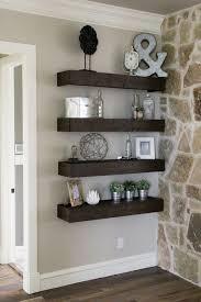 diy floating shelves for my living room