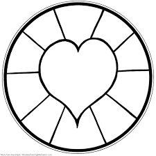 Simple Mandala Coloring Pages Download And Print For Free Mandala ...