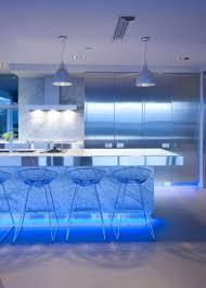 Led Strip Lights In Kitchen Kitchen Lighting Purple Led Strip Light On Kitchen Ceiling