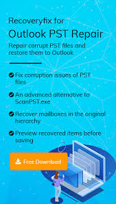 Pst Repair Software To Repair Deleted Or Corrupt Outlook