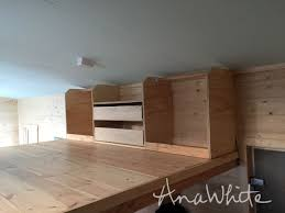 a few of you have been asking for more details on the loft closet we built for the wild rose tiny house