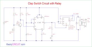 clap switch circuit diagram schematic wiring diagram rows clap switch circuit relay clap switch circuit diagram schematic