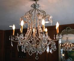 antique crystal chandelier drops