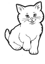 cat coloring page. Exellent Page Cat Pictures To Color Coloring Page Cat Printable Image And Coloring Page G