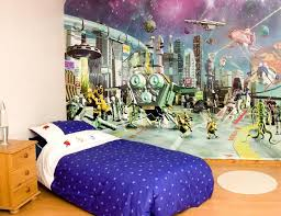 wallpaper ideas for kids bedroom room adorable wall design there are more decoration diy