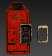 Nuka Cola Vending Machine Classy 488D Printed Nuka Cola Vending Machine Fallout 48 By Macnite Pinshape