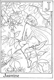 Small Picture Letter I For Iris Flower Fairy Coloring Page Alphabet Coloring
