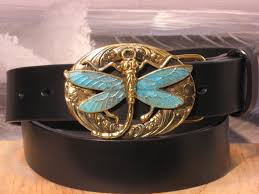dragonfly leather belts