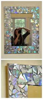 Diy mirror frame ideas Round Diy Mosaic Mirror Craftionary Craftionary