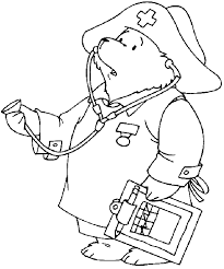 Small Picture Teddy Bear Doctor Color SheetBearPrintable Coloring Pages Free