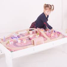 bigjigs magical train set and table
