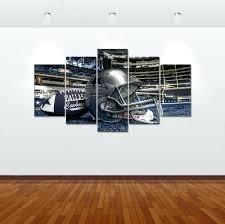 dallas cowboys football stadium 5 piece hd wall art print painting home decor canvas on dallas cowboys logo wall art with dallas cowboys football stadium 5 piece hd wall art print painting