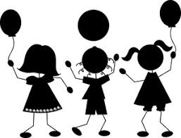 Image result for balloon silhouette clip art