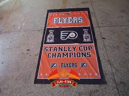 Flyers Flag Us 14 03 15 Off Flyers Flag Flyers Football Clubhouse Banner 90 150 Cm Knitted Polyester Light High Grade Fabrics In Flags Banners Accessories