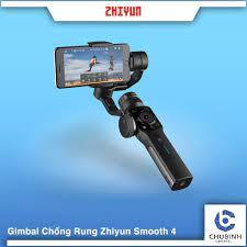 HÀNG CHÍNH HÃNG - Zhiyun Smooth 4 – Tay cầm gimbal chống rung 9Ir1