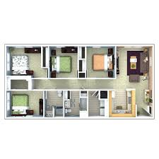 4 bedroom flat house plans unique floor plan house with style designs soweto kerala s bedroom
