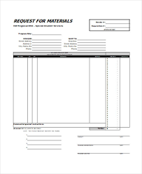 Free 27 Requisition Forms Xls