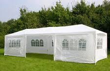 panana waterproof outdoor pe garden gazebo marquee canopy party tent 3 x 6m 120g