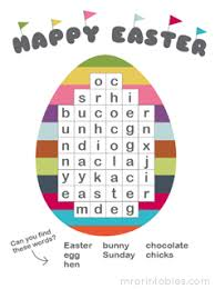 Small Picture Printable Puzzles for Easter Mr Printables
