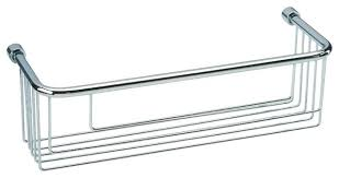 chrome bath caddy dot bathroom polished