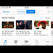 Hands Of Time 25 On Apple Itunes Blues Video Chart Climax