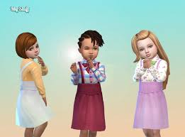 Dress Suspender for Toddlers | Sims 4 toddler, Sims 4 toddler clothes, Sims  4 clothing