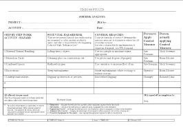 Financial Analysis Le Report Template Excel Free Templates