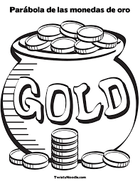 Small Picture Printable Gold Coins Coloring Pages Coloring Pages Ideas