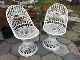 vintage wrought iron garden furniture. Unique Vintage Patio Chair And Russell Woodard Spun Fiberglass Chairs By Wrought Iron Garden Furniture
