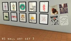 wall art set 3 at watasim on the sims resource sims 3 wall art with wall art set 3 at watasim sims 4 updates