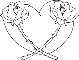 Coloring Pages Printable Heart Colouring Pages Color Page Coloring