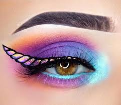 3 funky unicorn makeup ideas for party