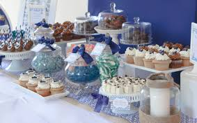Nautical Table Settings Baptism Or Christening Cw Distinctive Designs
