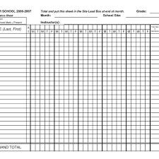 Charts Templates Impressive Sunday School Attendance Chart Template Holaklonecco Regarding