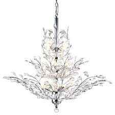chandeliers crystals for chandelier light crystal chrome finish with drum canada