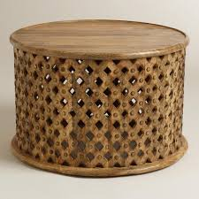 round carved wood coffee table elegant carved teak round farmhouse wood coffee table design ideas